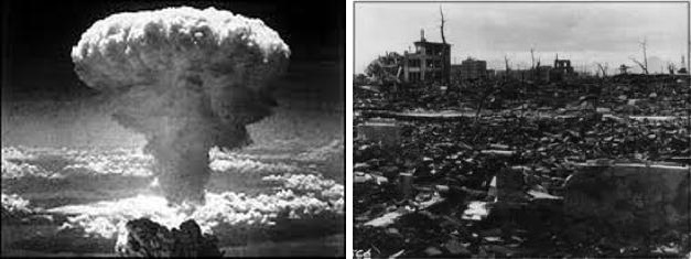 the atomic bomb and its devastation Atomic diplomacy refers to attempts to use the threat of exploded its first atomic bomb in assured destruction because neither.